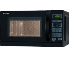 SHARP R642INW Microondas con grill 20l. Negro