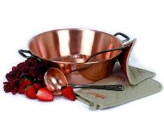 Le Parfait 2073007 - Cacerola de cobre (mango de acero inoxidable, 32 x 12 x 7 cm)