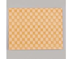 Saleen Mantel Individual Rectangular, 30 x 40 cm, Color Naranja