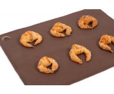 PINFI 81138 - Mantel de silicona para bandeja de horno, 29 x 39 cm, color marrón chocolate