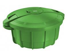 Sogo OLL-SS-10775G - Olla a presión para microondas, 3,2 l, color verde
