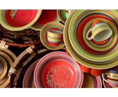 Galileo Vajilla 12 Piezas Saint Tropez Multicolor