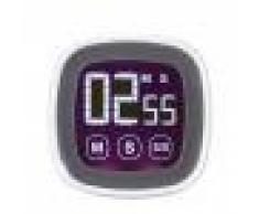 Temporizador Digital de Pantalla Táctil LCD Cocina Cuenta Atrás Con Función Alarma