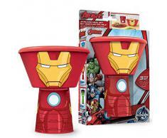 Set desayuno Iron Man Marvel apilable