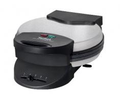 Tefal WM 310D 5waffle(s) 1000W Negro, Acero inoxidable - Gofrera (200 mm, 1000 W)