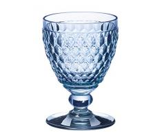 Villeroy & Boch Boston Coloured Copa de vino blanco Blue, 230 ml, Cristal, Azul