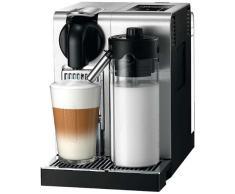 Nespresso DeLonghi Lattissima Pro EN 750MB-Cafetera de cápsulas, 19 bares, apagado automático, depósito de leche, pantalla táctil, color Aluminium