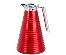 Alfi Achat - Jarra Térmica Aluminio lacado, color rojo, 1 Litro