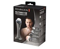 Remington FC-2000 - Cepillo limpiador facial inalámbrico, tecnología de limpieza avanzada, 3 cepillos