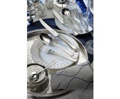 Arthur Price of England 44 piezas Britannia 25 años bañado en plata Canteen Set de cubiertos 6 personas