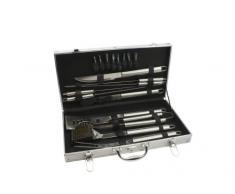 Leopold Vienna LV01070 - Maletín con utensilios para barbacoa (18 piezas, 480 x 75 x 265 mm)