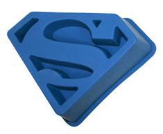 SD Toys SDTWRN02237 - Molde para horno de silicona, diseño Superman - Molde horno logo Superman DC Comics