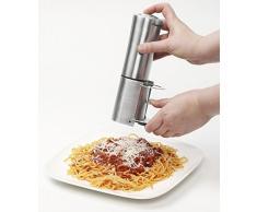 Bestron DCG602 - Rallador de queso eléctrico (inoxidable)