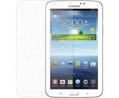 """Samsung ET-FT310CTEGWW - Protector de pantalla para tablet Galaxy Tab 3 8"""" (Lavable, incluye paño para limpiar y herramienta para aplicar)"""