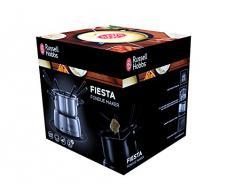 Russell Hobbs Fiesta - Fondue Eléctrica (1200 W, 1,7l, Acero Inoxidable, para Fundir Chocolate o Queso) - ref. 22560-56