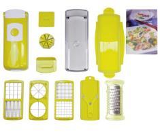 Genius Nicer Dicer Plus - Juego de utensilios de cocina para cortar (13 piezas)