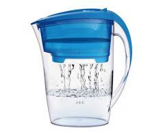 AEG AWFLJP2 Agua Jarra con Filtro Jarra aquasense Pure para 1,7 L de Agua filtrada, Azul