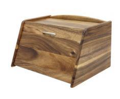 T&G Tuscany - Panera con tapa abatible, en madera de acacia