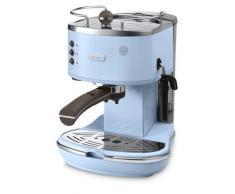 DeLonghi Vintage Icona ECOV310.AZ - Cafetera automática (1,4 L, 1100W, para espresso y cappuccino), color azul claro