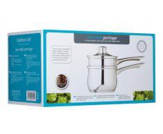 Kitchen Craft Clearview - Juego de cacerolas para baño maría