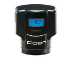 Cloer 6021 - Bomba de vacío para botella de vino con termómetro