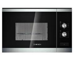 Bosch HMT72G654 - Microondas grill, 20 l, sin marco, cristal, color negro