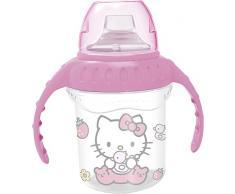Hello Kitty - Taza de aprendizaje con asas rosa