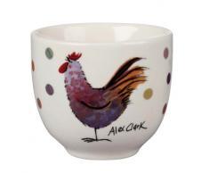 Alex Clark Rooster - Huevera (gres), diseño de gallo