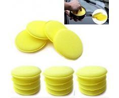 Pulido con Cera Esponja De Espuma Aplicador Almohadillas para Limpiar Coches Vehículo Vidrio