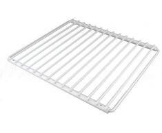 First4Spares - Bandeja Rejilla Ajustable Revestido de Plástico con Brazos Extensibles Ajuste Tornillos para Todos Modelos Nevera y Congelador Blanco