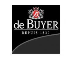 De Buyer Industries Coupe Lyonnaise Carbone Plus - Sartén, mango con chapa de hierro, 26 centímetros