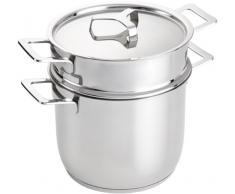 Alessi Pots&Pans - Juego de ollas para cocer pasta
