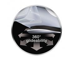 Braun is5042WH - Centro planchado, 2400 w, depósito 1.4 litros, suela eloxal bidireccional 3d, blanco y gris