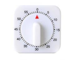 QHGstore Novedad Cocina Espacio 60 Minuto mecánica Temporizador Recordatorio Contar