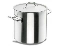 Lacor Chef Classic 50145 - Olla recta con tapa, 45 cm, inoxidable