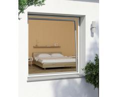 Windhager Tensor Plus, mosquitera Marco de Aluminio para Ventanas 100 cm x 120 cm, Blanco, 03898