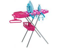 Faro 5510 - Plancha de juguete DeLonghi (con tabla de planchar, tendedero y percha) [Importado de Italia]