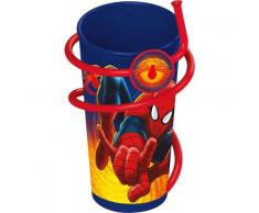 Vaso Spiderman Marvel caña