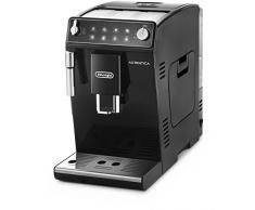 Delonghi Autentica - Cafetera Superautomática para Espresso y Cappuccino, 2 Tazas, Depósito de Agua de 1.3 l, Molinillo de Café Silencioso, Sistema de Auto-apagado, 1450 W, ETAM 29.510.B, Negro