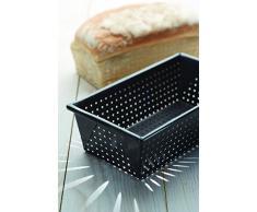 Master Class - Molde de pan para horno (900 g, antiadherente, color gris)