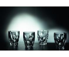 Nachtmann Sphere Vaso de Whisky Set, Set 4 Piezas, Vaso de Whisky, Tumbler, Cristal, Al 11.2 cm, 300 ml, 0093626-0