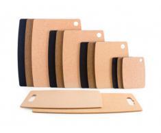 TopGourmet Kitchen Series - Tabla de cortar de fibra de madera (37,5 x 27,5 cm)
