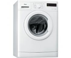 Whirlpool DLC8012 Independiente Carga frontal 8kg 1200RPM A+++ Color blanco - Lavadora (Independiente, Carga frontal, A+++, A, B, Color blanco)