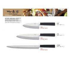 3 Claveles Cuchillo Profesional Gama Tokyo (21 cm - 8'', Deba)