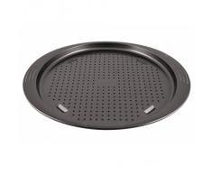Tefal EasyGrip J08390 Horno Alrededor Acero al carbón - Bandeja de horno (Pizza, Horno, Alrededor, Antracita, Acero al carbón, 210 °C)