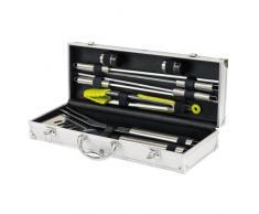 Domoclip GS47 - Maletín con utensilios para barbacoa (9 piezas)