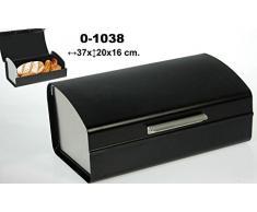 DonRegaloWeb - Panera acrílica de sobremesa en color negro con laterales y tirador en gris