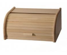Zeller 20463 - Panera de haya, tamaño grande (40 x 28 x 18 cm)