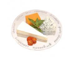 Fiesta de aluminio plato de queso