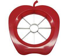 Fackelmann 42015 - Cortador de manzanas, plástico, surtido: colores aleatorios